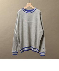【別注】 <CHAMPION(チャンピオン)> REVERSE WEAVE LINE L/S TEE/Tシャツ<br>