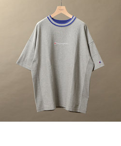 【別注】 <CHAMPION(チャンピオン)> REVERSE WEAVE LINE TEE/Tシャツ<br>