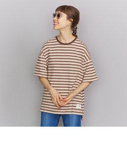 <Americana(アメリカーナ)>マルチボーダーTシャツ