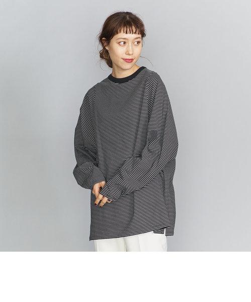 BY∴ コットン天竺ビッグロングスリーブTシャツ