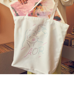 【WEB限定】 <AOR/Adult Oriented Records>×<info. BEAUTY&YOUTH> トートバッグ