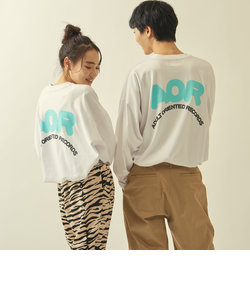 【WEB限定】 <AOR/Adult Oriented Records>×<info. BEAUTY&YOUTH><br>スーパービッグ ロンTEE LOGO