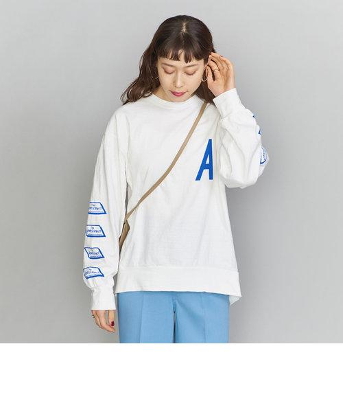 <Americana(アメリカーナ)>プリントロングTシャツ