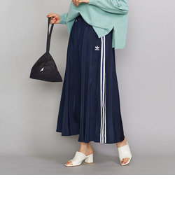 <adidas>スリーストライプ ロングスカート