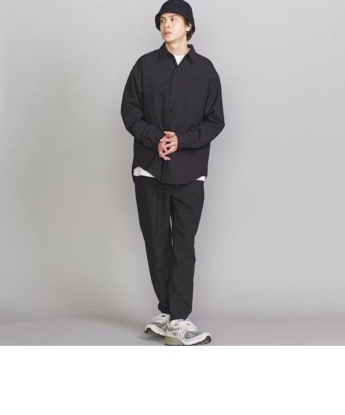 【WEB限定】by PE ポプリン ワイド シャツ&1P テーパード イージーパンツ/セットアップ