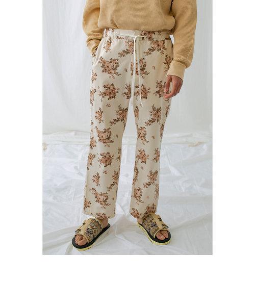 <monkey time> KATURAGI FLOWER PRINT EASY/イージーパンツ