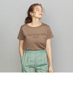 BY コットンプリントTシャツ