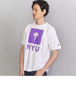 <CHAMPION (チャンピオン)>USA NYU TEE/Tシャツ