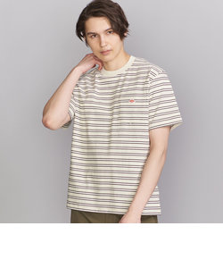 <DANTON(ダントン)> BORDER LOGO TEE/Tシャツ