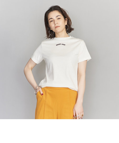 <SUPP.NO ONE ELSE>コンパクトロゴTシャツ