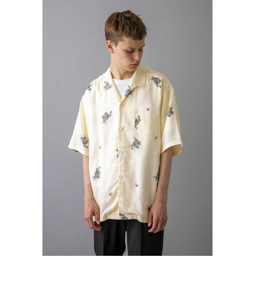 <monkey time> FLOWER PRINT OPEN SHIRT/シャツ
