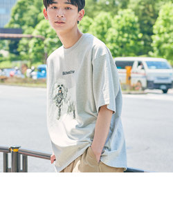 【WEB限定】 <info. BEAUTY&YOUTH>ドッグプリント Tシャツ