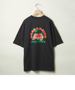 【WEB限定】 <info. BEAUTY&YOUTH> チェリーピック Tシャツ