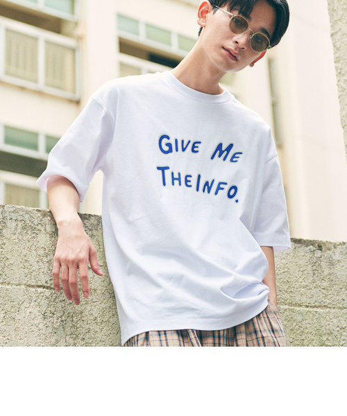 【WEB限定】 <info. BEAUTY&YOUTH> ギブミー Tシャツ