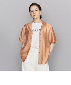BY オープンカラー5分袖シャツ