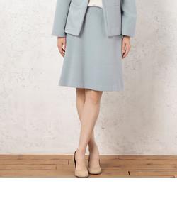 RF ウール/アンゴラ Aライン スカート
