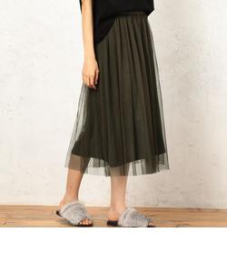 CF ペチコートツキ チュール スカート