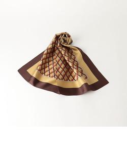 KF シルク キカガラ プリントスカーフ