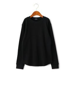 WEB限定【ジュニア】ドライ ワッフル クルーネック