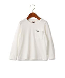 WEB限定【キッズ】LEE(リー) クルーネック ポケット Tシャツ