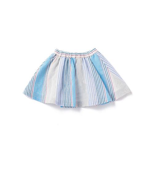 【ベビー】マルチストライプ スカート