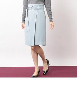 CR ダブルクロス ベルト スカート