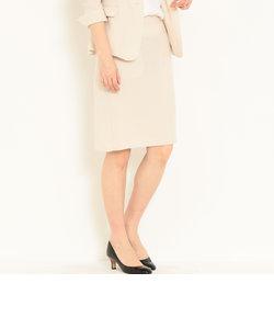 [Lライク] ◆D トリアセ キザミカラー組下 Aラインスカート