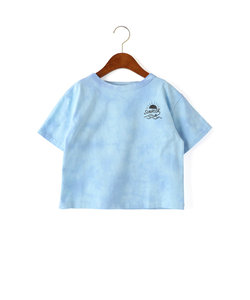 シボリゾメ ボートネック Tシャツ ショートスリーブ