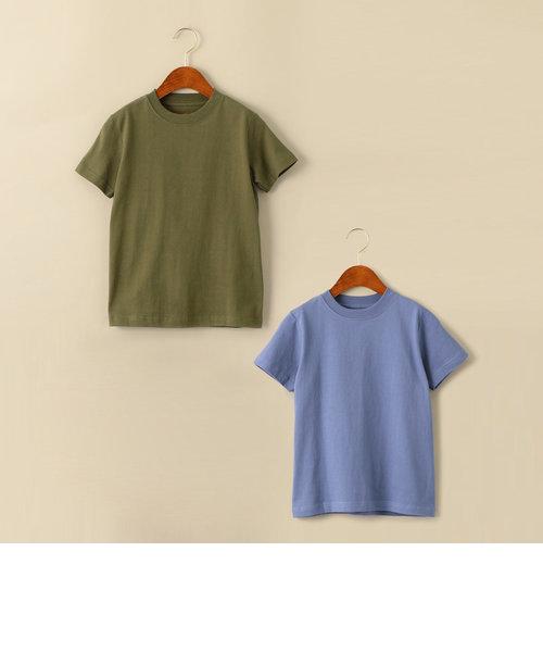 【キッズ】〔別注〕Hanes(ヘインズ)BEEFY 2P Tシャツ
