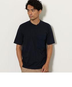 CM ポケットコンビ クルーネック Tシャツ 半袖