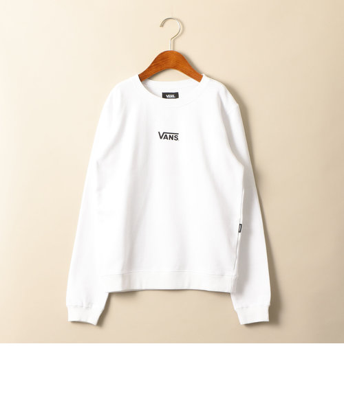 vans バンズ off the wall bigロゴスウェット green label relaxing