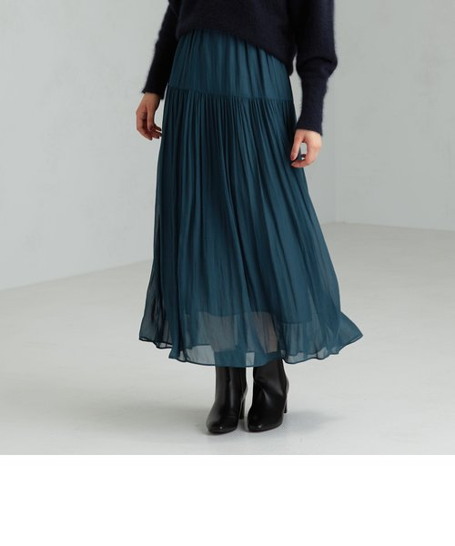 FFC ヨウリュウ ギャザー スカート ※