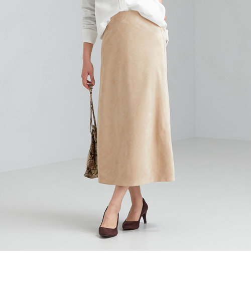 FFC フェイク スエード ナロー スカート