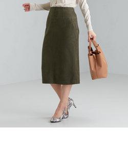 CS monable フェイクスエード タイト スカート