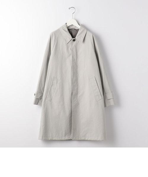 < 機能 / 多機能ポケット・撥水 > CSM ナイロンオックス ルーズ ステンカラー コート #