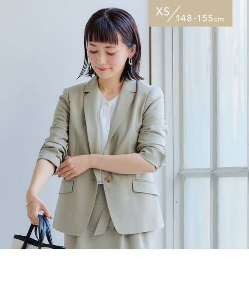 [ XS / H148-155cm ][ 手洗い可能 / カチリラ ] ★★D テーラード ジャケット -JJSP <XS>
