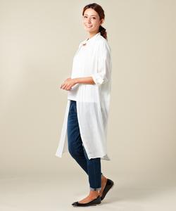 T/Rビエラ ロングシャツドレス