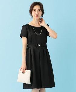 エレガントジャガードワンピース ドレス