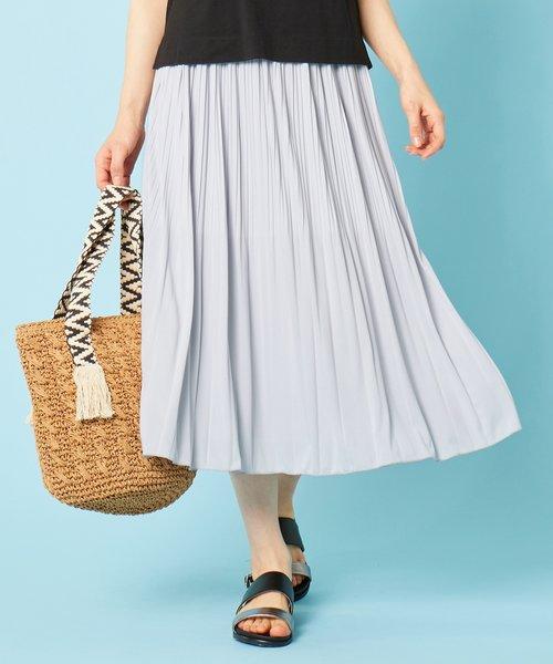 【美人百花11月号掲載】チュールプリーツ スカート