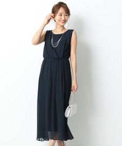 アシメタックミディー ドレス