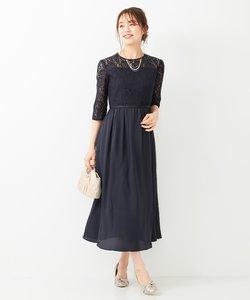 【洗える】エンパイアレーシー ドレス