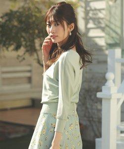 【2SET】スプリングフローラルセットアップ ワンピース