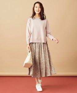 【2SET】アートフラワースカート セットアップ