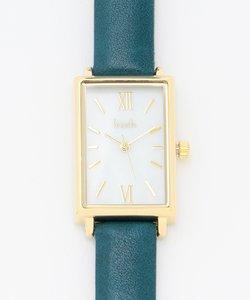 スクエアフレーム ウォッチ(腕時計)
