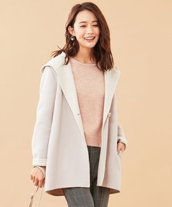 【WEB&一部店舗限定カラー有】Wフェイスミドル コート