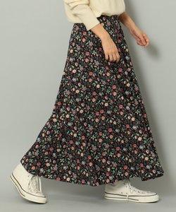【LIBERTY】フラワープリント ロングスカート
