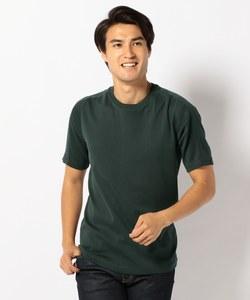 40/2フライス 無地半袖 Tシャツ