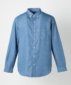 デニム レギュラーカラーシャツ