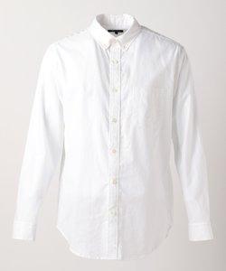 綿麻混 カラー レギュラーカラーシャツ