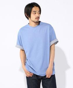 Wフェイスカノコ ビッグシルエット Tシャツ
